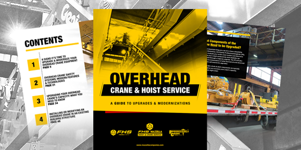 overhead crane upgrades and modernizations